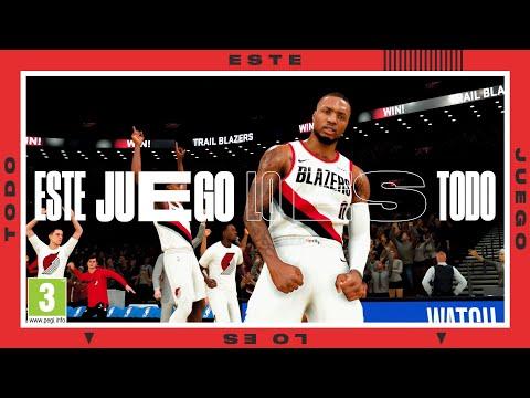 Primer TRÁILER con GAMEPLAY de NBA 2K21