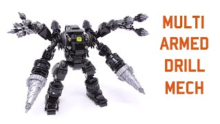 Gambar cover LEGO - Multi Armed Drill Mech [Viewer's Idea] - Stop Motion Build