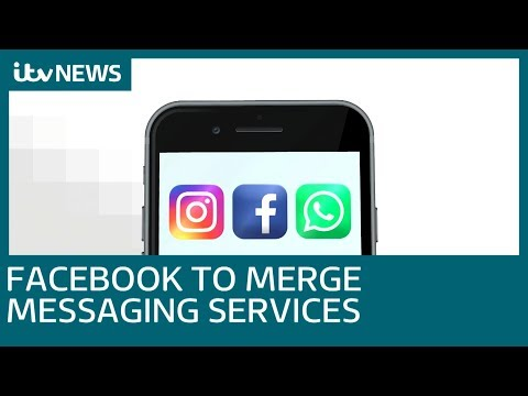 Facebook to merge WhatsApp, Instagram and Messenger   ITV News Mp3