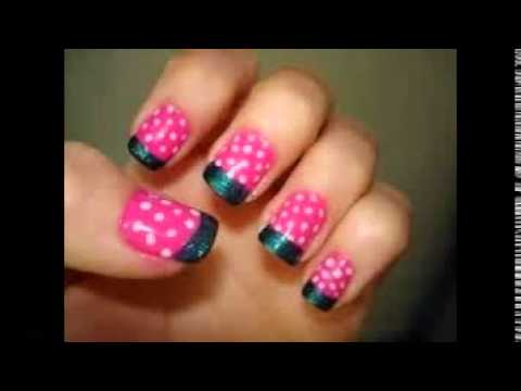 Easy nail art for kids youtube prinsesfo Gallery