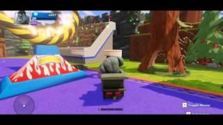 Disney Pixar Gray Hulk and Donald the Duck fun day in Disney Infinity Wonderland Part 1 HD