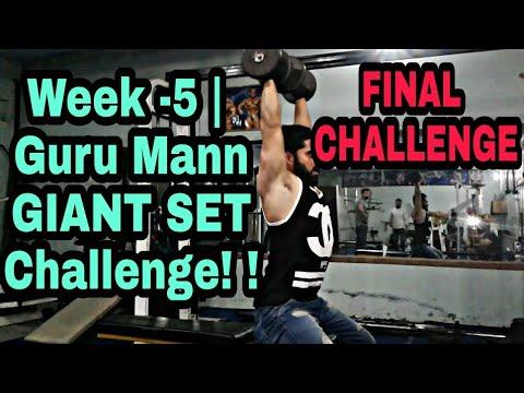GuruMannGIANT SET Challenge!! FINAL CHALLENGE