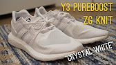 487fcfb99246 ADIDAS Y3 PURE BOOST ZG KNIT BLACK TRIPLE WHITE BY8955 FROM YEEZYSGO ...