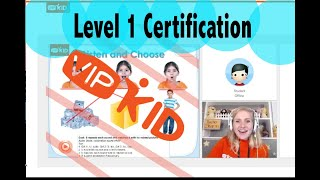 Level 1 Certification Demo Lesson