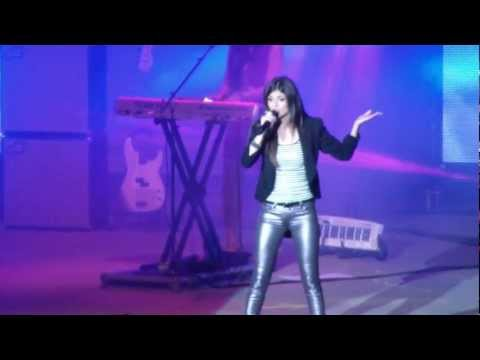 """Victoria Justice 2012-9-14 """"Faster Than Boys"""".mpg"""