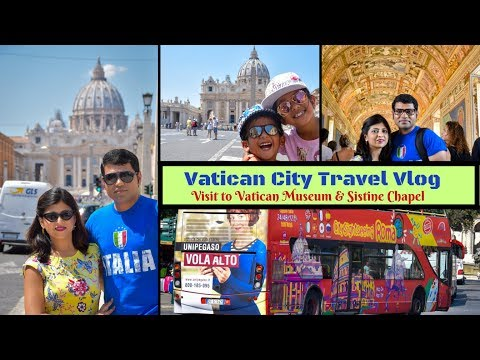 Vatican City Tour || Vatican Museum & Sistine Chapel || Europe Travel Vlog #4 || Indian Vlogger