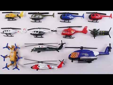 Helicopters For Kids | Learn Names And Sounds Of Various Helicopters For Kids |  | Kindergarten TV
