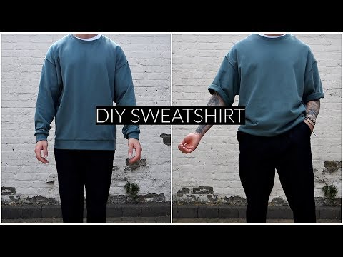 *EASY* DIY OVERSIZED SWEATSHIRT | Mens Fashion | Daniel Simmons