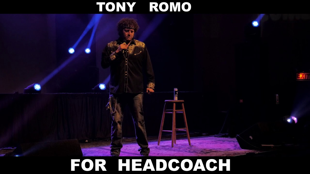 Download Tony Romo for Dallas Cowboys Headcoach?   Stand Up Comedy