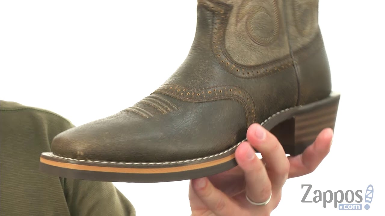 78ac30d2c5f Ariat Heritage Roughstock Wide Square Toe SKU: 9033251