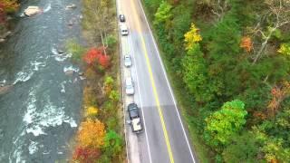 Drone Landing Ocoee River, TN