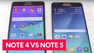 Galaxy Note 5 vs Note 4 ITA videoconfronto • Ridble