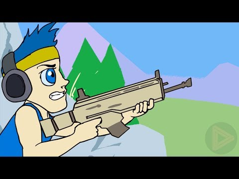 Fortnite Animation | Ninja Owns Fortnite Battle Royale