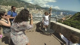 Monaco's day trippers - target