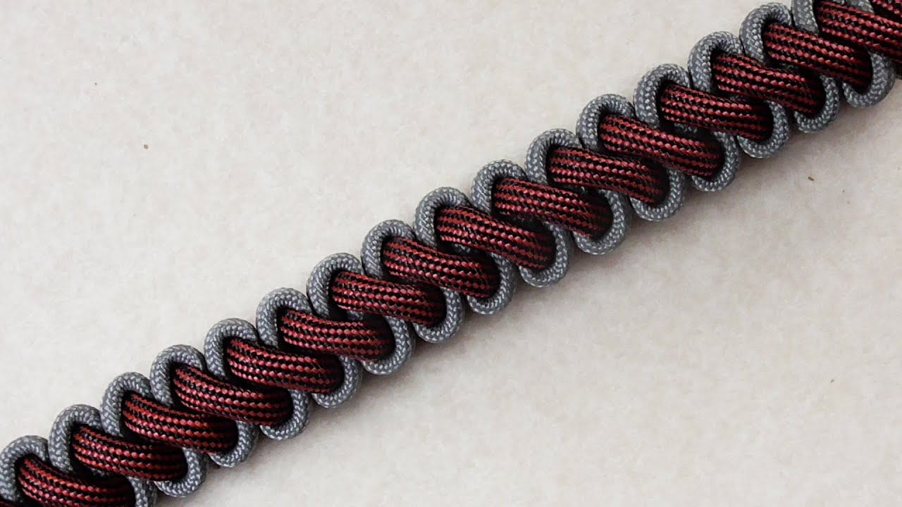 new video how you can braid a bootlace parachute cord