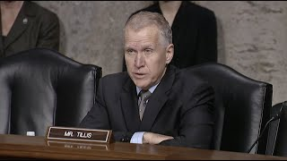 Senator Tillis Speaks to Multiple Veterans Service Organizations During SVAC Hearing