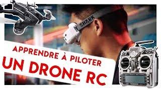 Gambar cover Apprendre à Piloter Un DRONE RACER ! Exercices sur Simu + Théorie