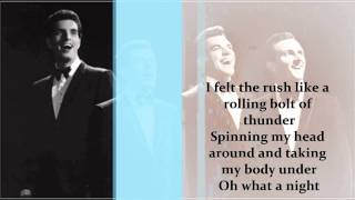Frankie Valli and The four seasons- Oh What a night  (lyrics)
