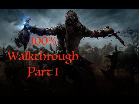 middle-earth:-shadow-of-mordor-100%-walkthrough-part-1:-prologue