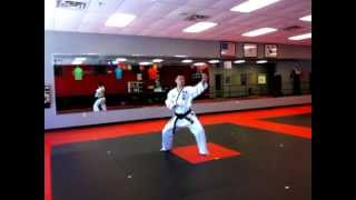 Mr. Yu's ATA Form - Shim Jun (1st degree Black Belt)