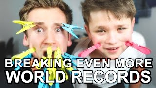 BROTHERS BREAK EVEN MORE WORLD RECORDS
