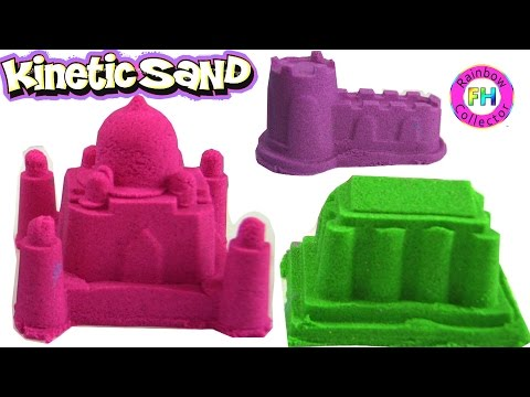 Kinetic Sand: Building The Great Wall, The Colosseum , The Taj Mahal, A Castle, A Pyramid...
