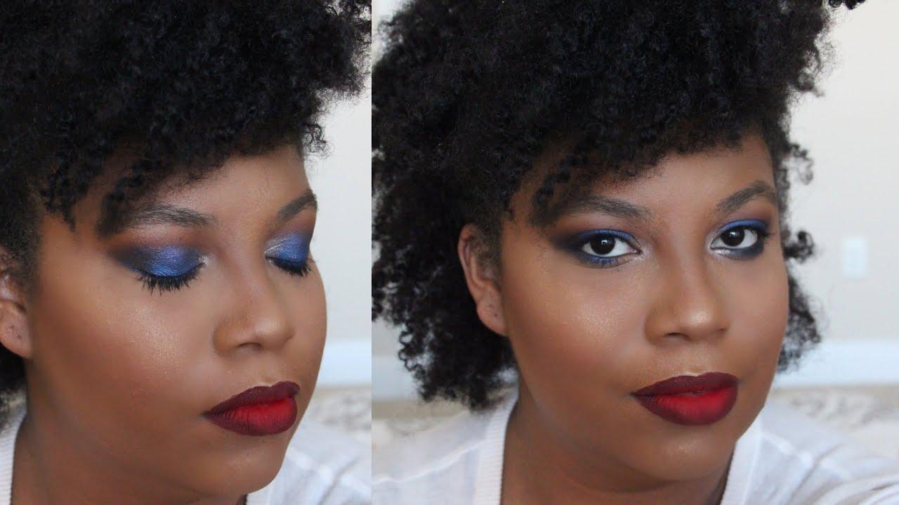 Glam Smokey Eye Tutorial || Girls Night Or Party Makeup - YouTube