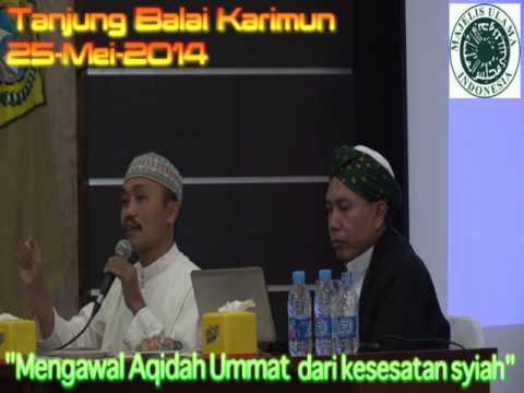 Dialog Terbuka Sunni - Syiah : Mengawal Akidah Ummat dari Aqidah Syiah (4)