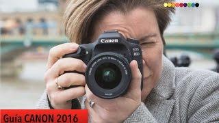 Guía de Cámaras Canon 2016: ¿Qué cámara me compro?