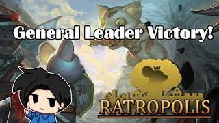 Ratropolis - General Leader 30 Waves Victory!