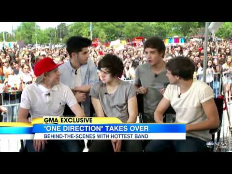 One Direction: Exclusive Interview With...