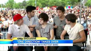 One Direction: Exclusive Interview With Boy Band 2012