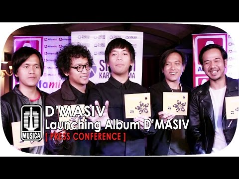 Cover Lagu Launching Album D`masiv Press Conference