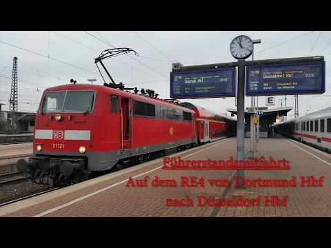 4K | Führerstandsmitfahrt auf dem RE4 ( 4/4 )  ( Dortmund - Düsseldorf )