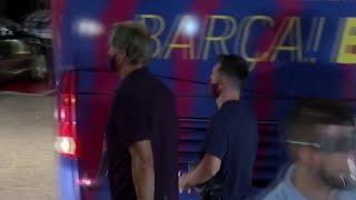ЖЕСТЬ Вот что ожидало игроков БАРСЕЛОНЫ после УНИЖЕНИЯ от БАВАРИИ у отеля Бавария Барселона