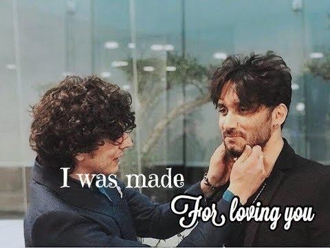 ermal meta & fabrizio moro | i was made for loving you