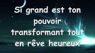 La Nuit (Les Choristes): Lyrics