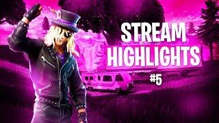 PAIN STREAM HIGHLIGHTS #5 | Fortnite Battle Royale