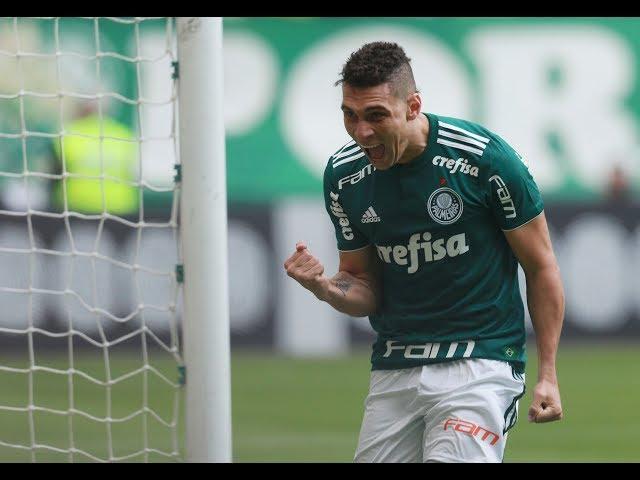Gol de Moisés - Palmeiras 3 x 2 Atlético-MG - Narração de Nilson Cesar