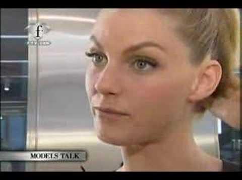 Angela Lindvall Model Talk S/S 2007