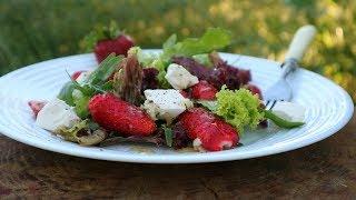 Салат с Клубникой  и Сыром Фета. Король вкуса! | Salad with strawberries and feta cheese
