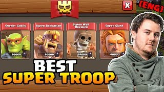UPDATE is LIVE | Which is the BEST Super Troop to use ? | Clash of Clans | iTzu [ENG]