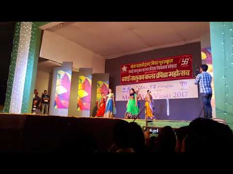 VASAI KALAKRIDA 2017 GROUP FASHION SHOW WINNERS Ultimate Parikrama (festivals of India)