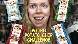 WEIRD POTATO CHIP CHALLENGE #2