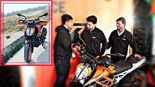 18 year Boy Buying KTM DUKE 390