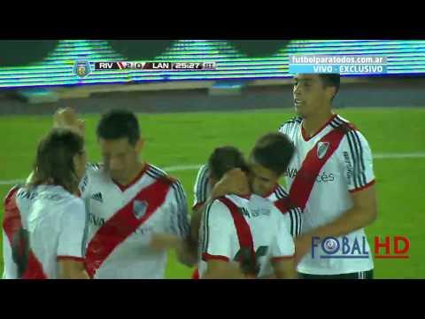 Gol del Keko Villalba. River 2 - Lanús 0   Torneo Final 2014 - Fecha 9