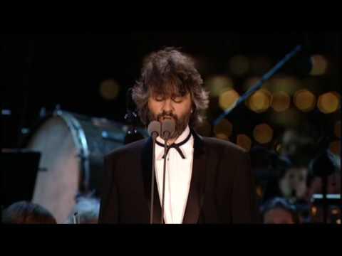 Andrea Bocelli-O Sole Mio - American Dream - Statue Of The Liberty Concert
