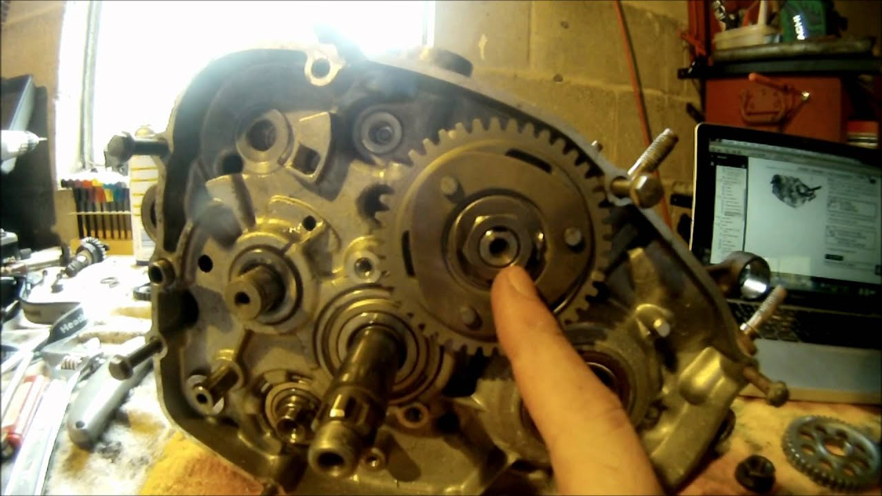medium resolution of yamaha blaster bottom end engine assembly