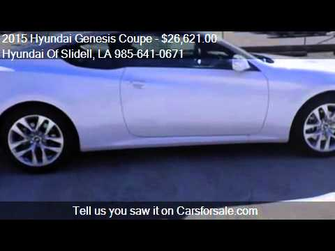 2015 hyundai genesis coupe seats for sale in slid youtube. Black Bedroom Furniture Sets. Home Design Ideas