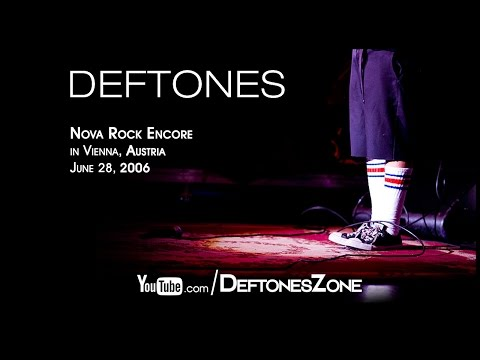 Deftones - Nova Rock Encore in Vienna, Austria 2006 [FULL SHOW]
